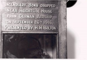 Pic14-Bomb-from-Zepellin-raid-in-Rawtenstall-Museum-19160926